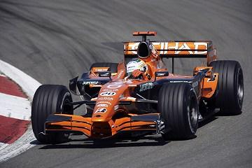 Etihad Aldar Spyker F1 Team